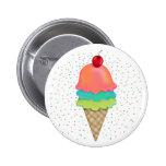 Ice Cream Treats 6 Cm Round Badge