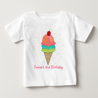 Ice Cream Treats Baby T-Shirt