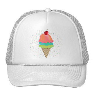 Ice Cream Treats Trucker Hats