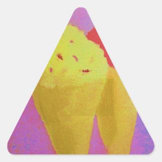 Ice Cream Triangle Sticker