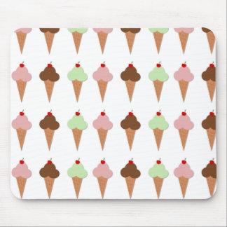 Ice Cream Trio Mouse Pad