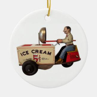 Ice Cream Truck Christmas Ornament
