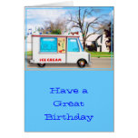 Ice Cream Truck in the Street