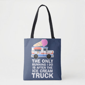 Ice Cream Truck Workout Tote Bag