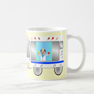 Ice cream van coffee mug