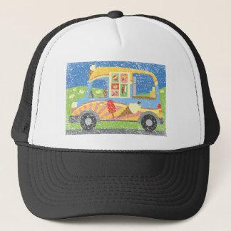 Ice Cream Van Worn Look Trucker Hat