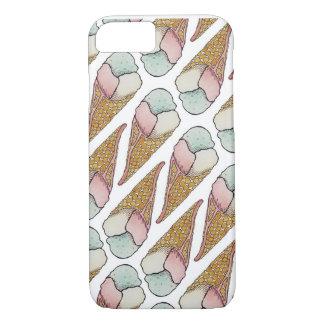 Ice Cream Waffle Cone iPhone 8/7 Case