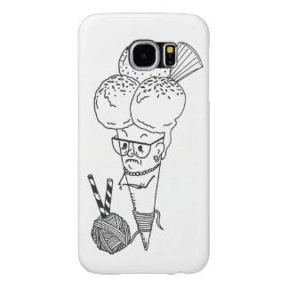 """Ice Cream with Granny"" Samsung Cover Samsung Galaxy S6 Cases"