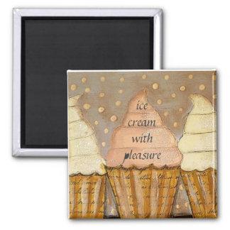 ice cream with pleasure magnet