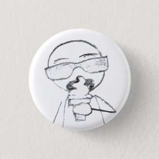 Ice Creammmmmm 3 Cm Round Badge