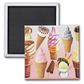 ice creams magnet