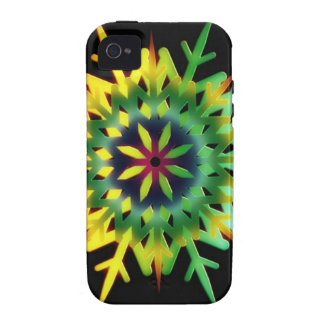 Ice Crystal Color Vibe iPhone 4 Case