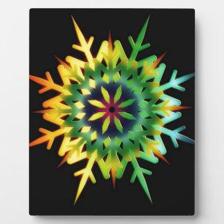 Ice Crystal Color Plaque