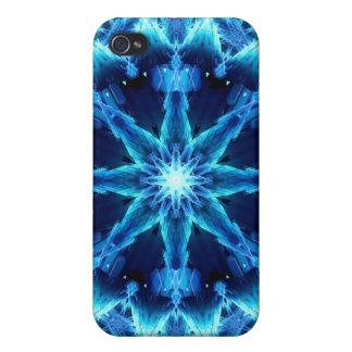 Ice Crystal Light Mandala iPhone 4/4S Covers