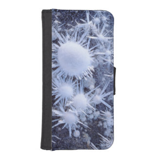 Ice crystals in the Sierra iPhone SE/5/5s Wallet Case