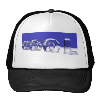 ICE CUBE TEXT CAP