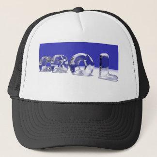 ICE CUBE TEXT TRUCKER HAT
