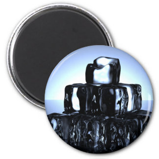 Ice cubes magnet