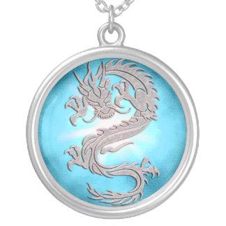 Ice Dragon Fantasy Necklace