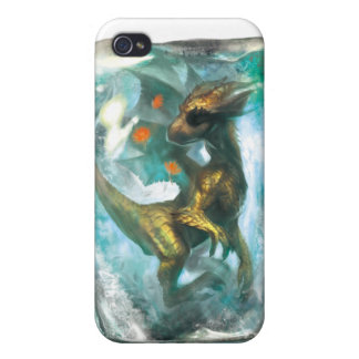 Ice dragon for iphone4 covers for iPhone 4