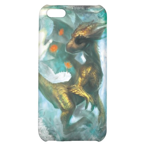 Ice dragon for iphone4 case for iPhone 5C