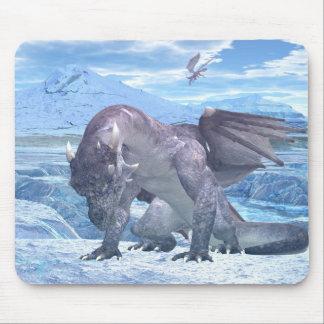 Ice Dragon Mouse Pad
