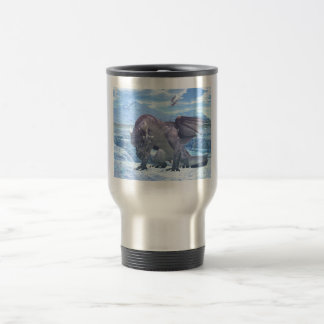 Ice Dragon Travel Mug