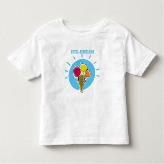 ice dream funny cartoon ice cream and cornet toddler T-Shirt