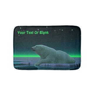 Ice Edge Polar Bear Bath Mat