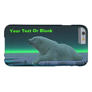 Ice Edge Polar Bear Barely There iPhone 6 Case