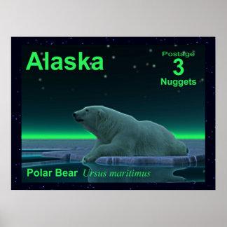 Ice Edge Polar Bear Posters
