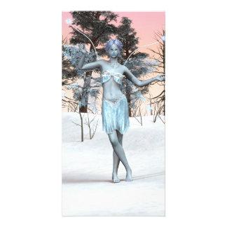 Ice Fairy Customised Photo Card
