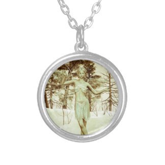 Ice Fairy Silver Plated Necklace