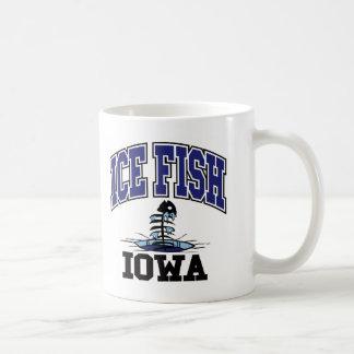 Ice Fish Iowa Mugs