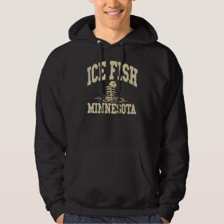 Ice Fish Minnesota Hoodie