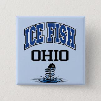 Ice Fish Ohio 15 Cm Square Badge