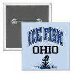 Ice Fish Ohio Pinback Button