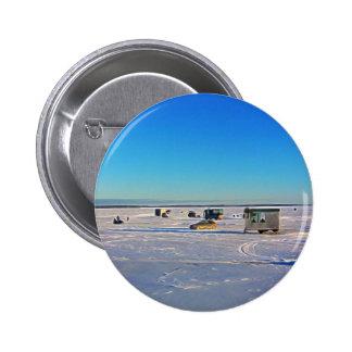 Ice Fishing collectin 6 Cm Round Badge