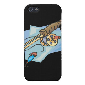 Ice Fishing Pole iPhone 5 Covers
