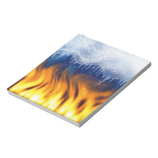 Ice & Flame Notepad