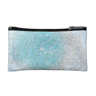 Ice flower cosmetic bag