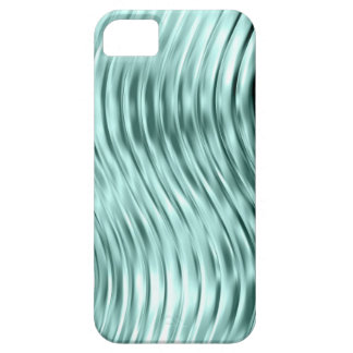 Ice Green Curved Glass Print iPhone 5 Case-Mate iPhone 5 Covers