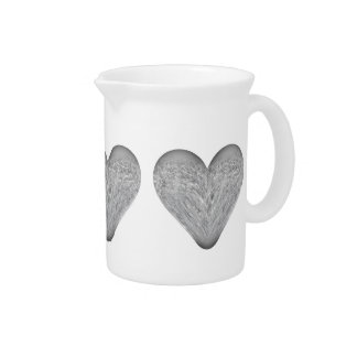 ice heart drink pitcher