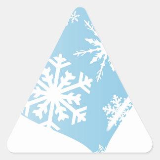 Ice Heart Triangle Sticker