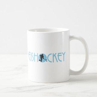 ice hockey basic white mug