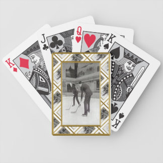 Ice Hockey Bicycle Playing Cards