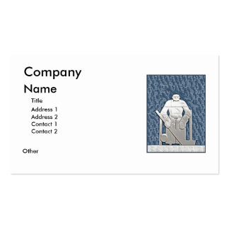 Ice Hockey Business Card Templates