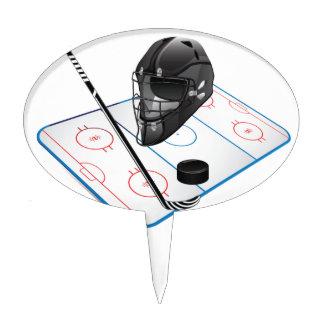 Ice Hockey Cake Topper