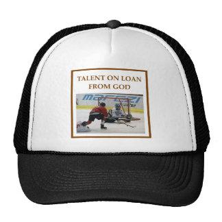 ice hockey trucker hats