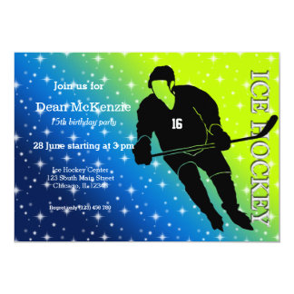 Ice Hockey Card